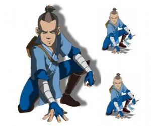 Sokka is a 15 years old warrior of the Southern Water Tribe who goes with Aang puzzle