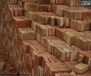 Solid bricks puzzle