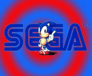 Sonic logo puzzle
