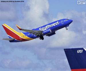 Southwest Airlines, USA puzzle