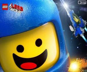 Spaceman Benny of the Lego movie puzzle