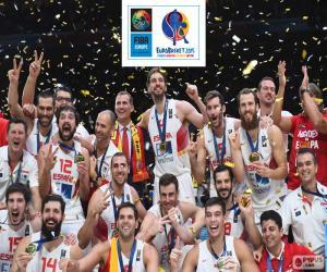Spain, EuroBasket 2015 puzzle