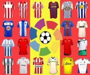Spanish Football League - La Liga puzzle