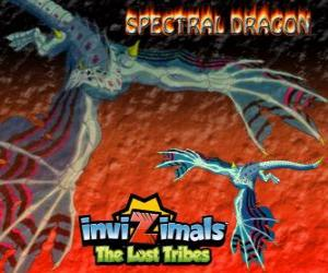 Spectral Dragon. Invizimals The Lost Tribes. Evil invizimal that ensures easy combats if you are brave to have by your side puzzle
