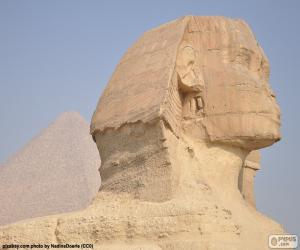 Sphinx of Giza puzzle