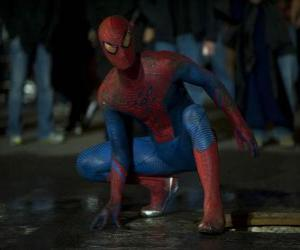 Spider-man on the streets of New York puzzle
