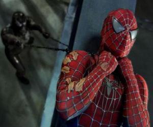 Spiderman caught in Venom puzzle