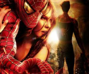 Spiderman with Mary Jane puzzle