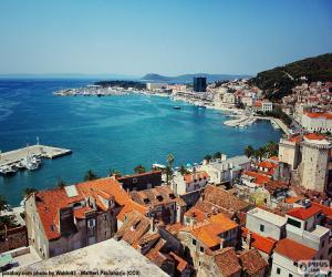 Split, Croatia puzzle