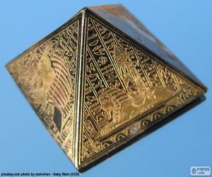 Square based pyramid puzzle