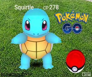 Squirtle Pokémon GO puzzle