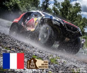Stéphane Peterhansel, Dakar 2016 puzzle
