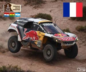 Stéphane Peterhansel, Dakar 2017 puzzle