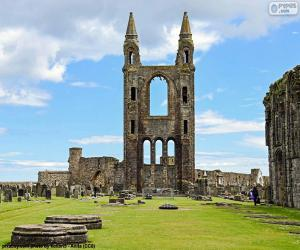St Andrews Cathedral, Scotland puzzle