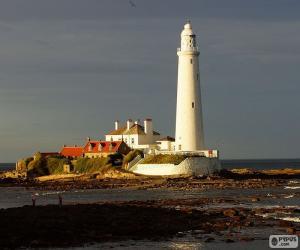 St. Mary's Lighthouse, England puzzle