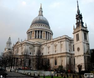 St. Paul's Cathedral, London puzzle
