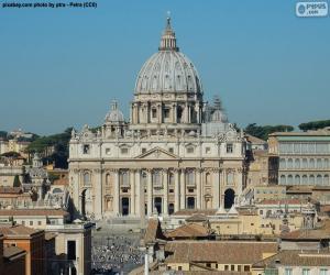 St. Peter's Basilica, Vatican puzzle