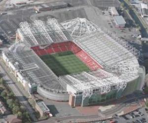 Stadium of Manchester United F.C. - Old Trafford - puzzle