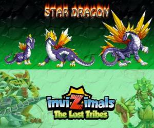 Star Dragon, latest evolution. Invizimals The Lost Tribes. The most valuable dragon invizimal puzzle