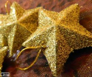 Star for Christmas tree puzzle