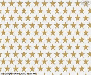 Star wrapping paper puzzle