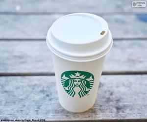 Starbucks tumbler puzzle