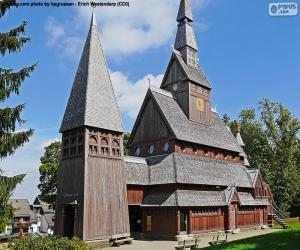 Stave church, Germany puzzle