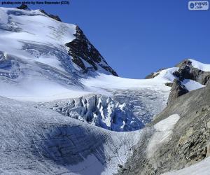 Stein Glacier, Switzerland puzzle