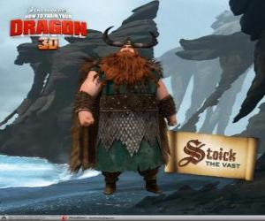 Stoick, traditional Viking chief puzzle