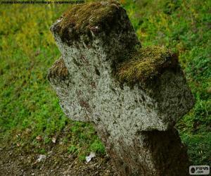 Stone cross puzzle