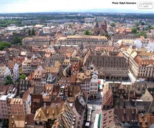 Strasbourg, France puzzle