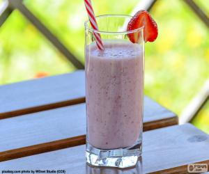 Strawberry shake puzzle