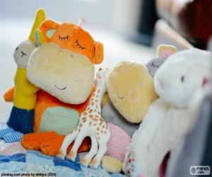 stuffed toys puzzle