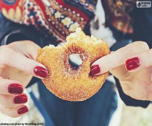 Sugar doughnut puzzle