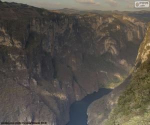 Sumidero Canyon, Mexico puzzle
