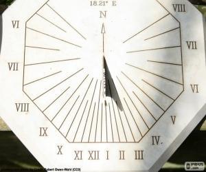 Sundial puzzle