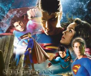 Superman and Lois Lane puzzle