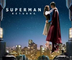 Superman to Lois Lane puzzle
