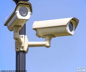 Surveillance cameras puzzle
