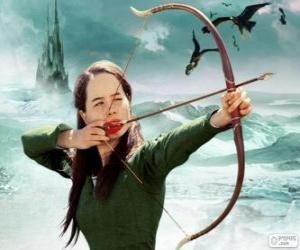 Susan Pevensie with bow puzzle