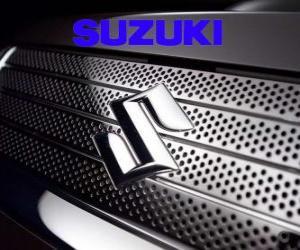 Suzuki logo, Car brand from Japan puzzle