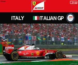 S.Vettel, 2016 Italian Grand Prix puzzle