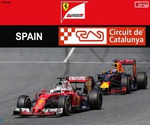 S.Vettel, 2016 Spanish Grand Prix puzzle