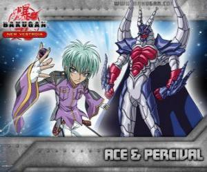 Swemco Ace and Percival Bakugan puzzle