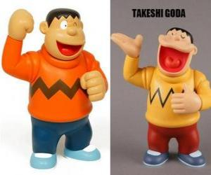 Takeshi Goda known by his peers as Gian because he is a big and a strong boy puzzle