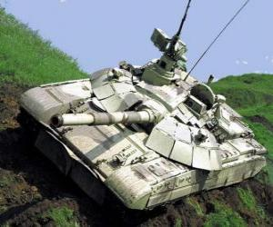 Tank T-72 puzzle