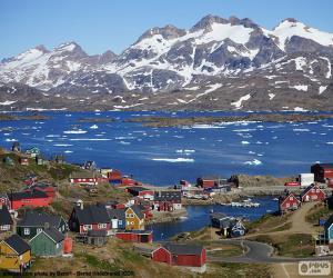 Tasiilaq, Greenland puzzle