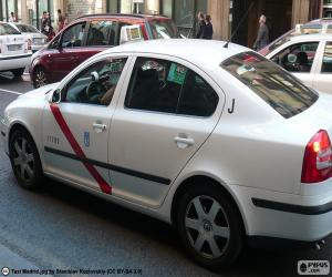 Taxi from Madrid puzzle