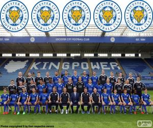 Team of Leicester City 2015-16 puzzle
