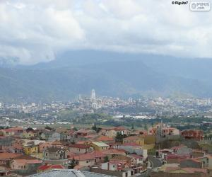 Tegucigalpa, Honduras puzzle